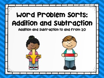 Word Problem Sorts-Addition and Subtraction