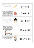 Word Problem Strategy Match