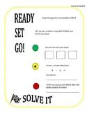 Word Problem Strategy: Ready, Set, Go!