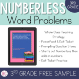 Word Problem Strategy-Solve Numberless Story Problems