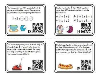 Math Task Cards BUNDLE for 4th Grade