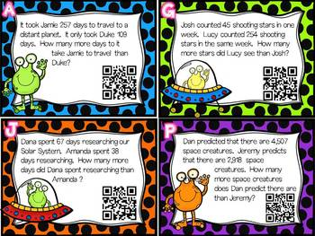 Word Problem Task Cards: Addition, Subtraction, Multiplication, and Division