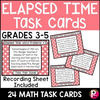 Word Problem Task Cards Bundle