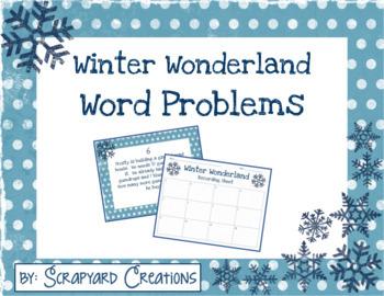 Word Problem Task Cards (Digital & Printable)