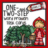Task Cards ~ Word Problems, Little Red Riding Hood for Gra