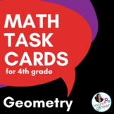 4th Grade Geometry Task Cards