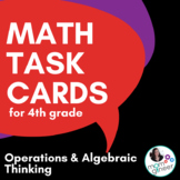 Word Problem Task Cards Operations & Algebraic Thinking