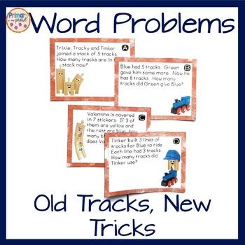 Word Problem Task Cards for Old Tracks, New Tricks