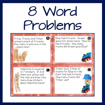 Word Problem Task Cards for Old Tracks, New Tricks