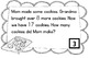 Word Problem Task Cards to 20 - Cookies