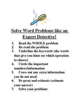 Word Problem Tips, Tricks and Practice