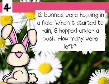 Word Problem Warm Ups For the Year Bundle!