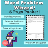 Word Problem Wizard Packet