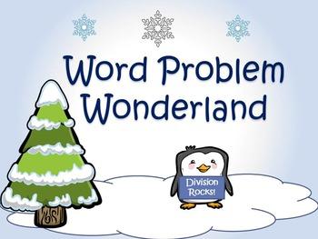 Word Problem Wonderland: Division