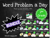 Word Problem a Day - 2nd Grade (Bundle)