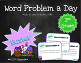 Word Problem a Day - 2nd Grade (Easter)