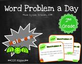 Word Problem a Day - 2nd Grade (Halloween)