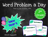 Word Problem a Day - 2nd Grade (New Year's)