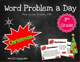 Word Problem a Day - 3rd Grade (Christmas)