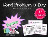 Word Problem a Day - 3rd Grade (Easter)