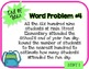 Word Problem a Day - 3rd Grade (End of Year)