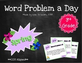 Word Problem a Day - 3rd Grade (Spring)