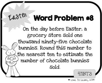 Word Problem a Day - 4th Grade (Bundle)