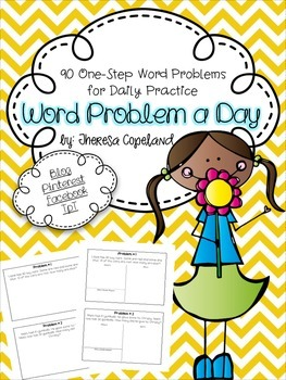 Word Problem a Day {One-Step}