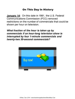 Word Problem of the Day - Five Month Bundle, January - May