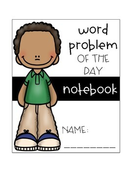 Word Problem of the Day Notebook for 2nd Grade