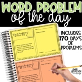 Word Problem of the Day - Paper and Digital Use!! Distant