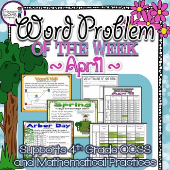 Multi-Step Word Problems {April}