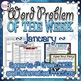 Multi-Step Word Problems {January}