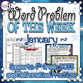 Multi-Step Word Problems {January}