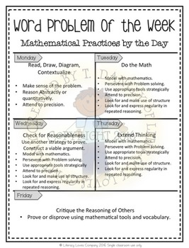 Multi-Step Word Problems {May}