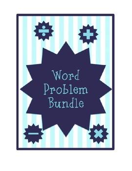 Word Problems Bundle- 3rd & 4th Grade