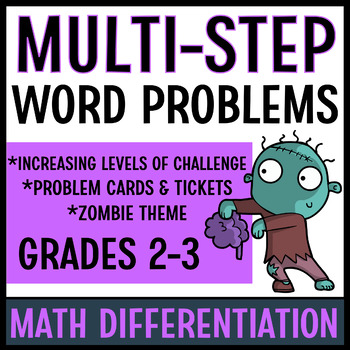 Differentiated Word Problems (Zombie Set)