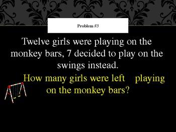 Word Problems- 1st grade