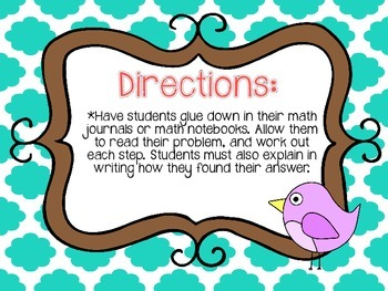Word Problems 2 Steps