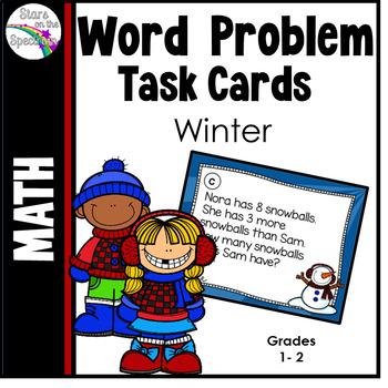Winter Activities (Word Problems)