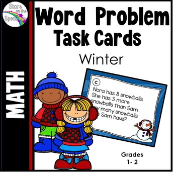 Winter Activities Winter Word Problems