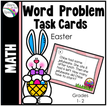 Easter Activities Math Word Problems