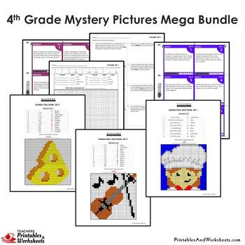 4th Grade Math Stations, 4th Grade Daily Math Reviews