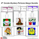 4th Grade Mystery Pictures Bundle, Includes 4th Grade Math