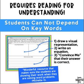 Word Problems 3rd Grade Multi-Step Common Core Aligned
