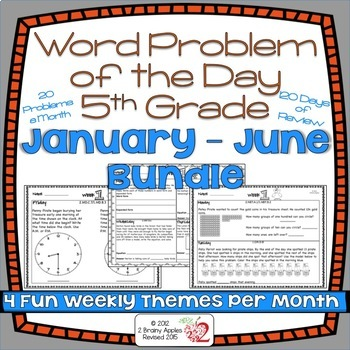 Word Problems 5th Grade Bundle