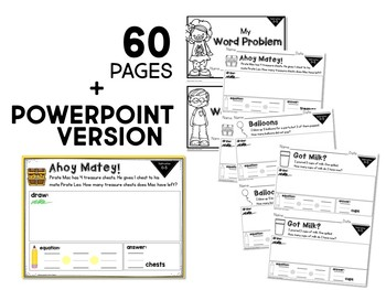 Word Problems: ADDITION and SUBTRACTION within 5 Mini-Workbooks
