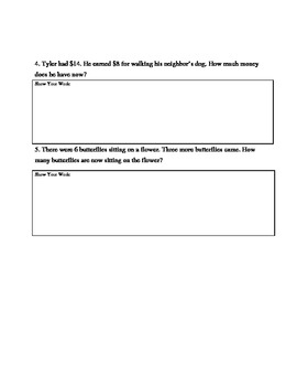 Word Problems-Addition