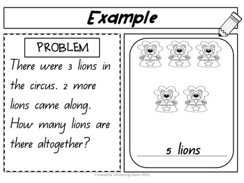 Addition & Subtraction Story Problems