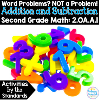 Word Problems Addition & Subtraction:  2.OA.A.1 Common Cor